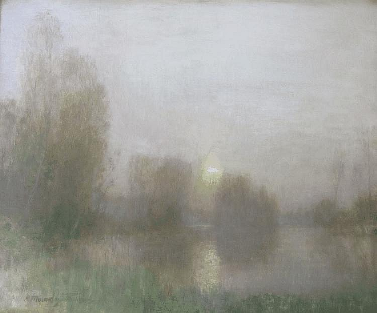 R.A.M. Stevenson (Bob), Moonrise [https://image.invaluable.com]