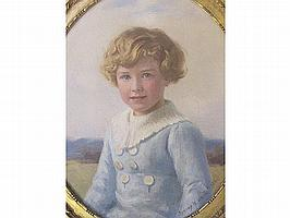 SIDNEY W WHITE (fl.1892-1917) Pair of oval oil on