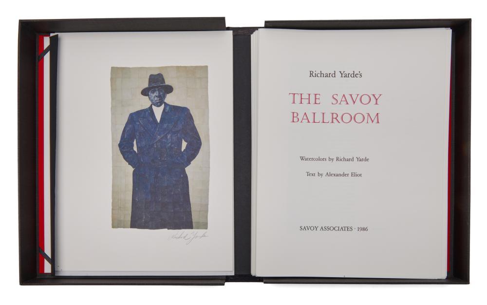 Yarde, Richard and Alexander Eliot. Richard Yarde's The Savoy Ballroom.