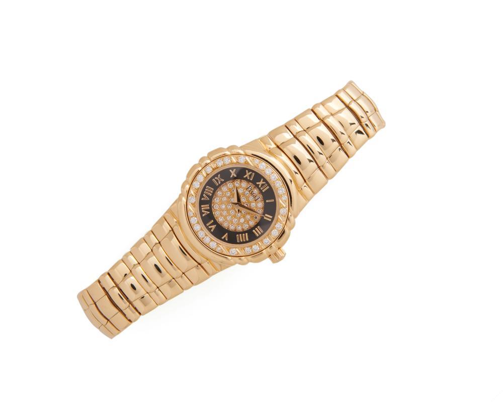 PIAGET 18K Gold and Diamond 'Tanagra' Wristwatch