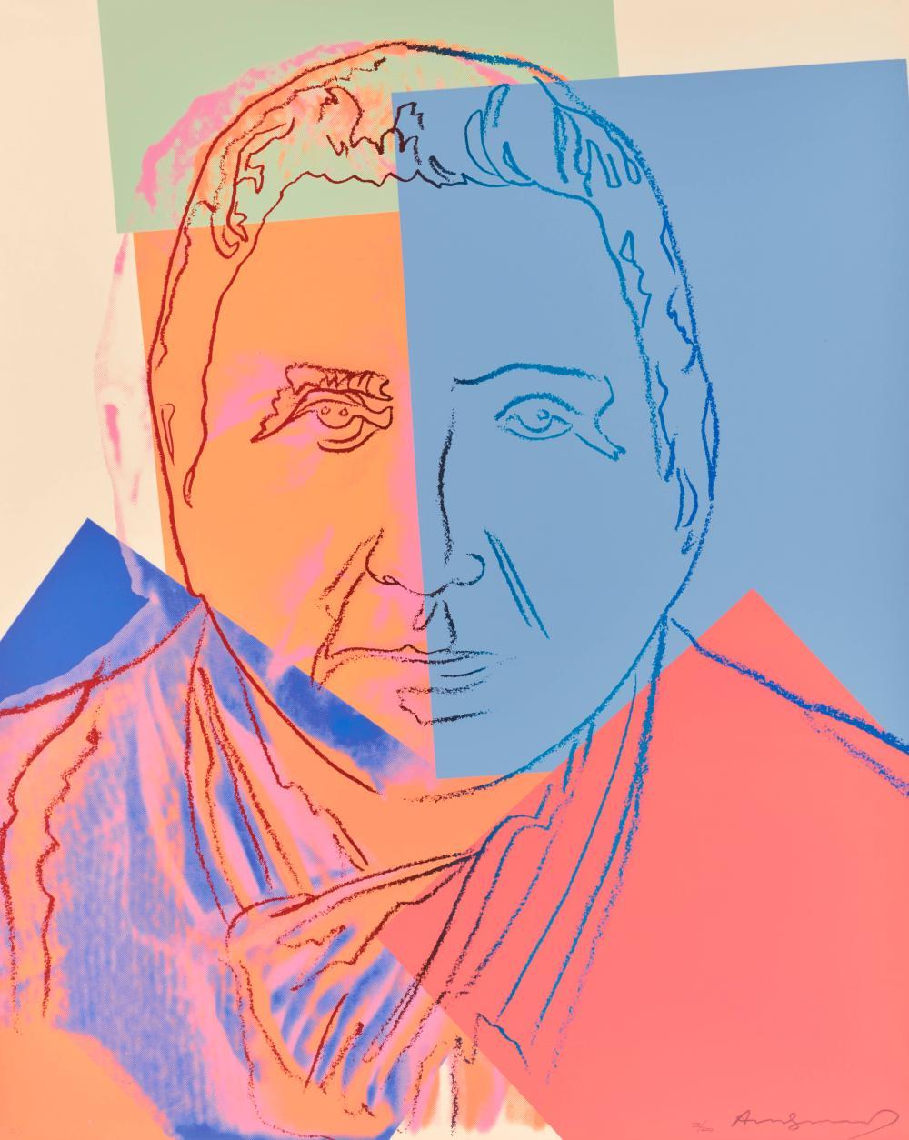 ANDY WARHOL, (American, 1928-1987), Gertrude Stein (F. & S. II.227), 1980, screenprint, sheet: 40 x 32 in., frame: 42 x 34 in.