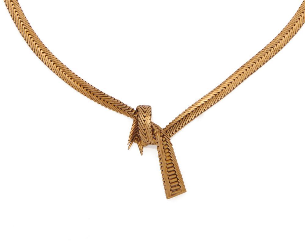 CARTIER 18K Gold Necklace