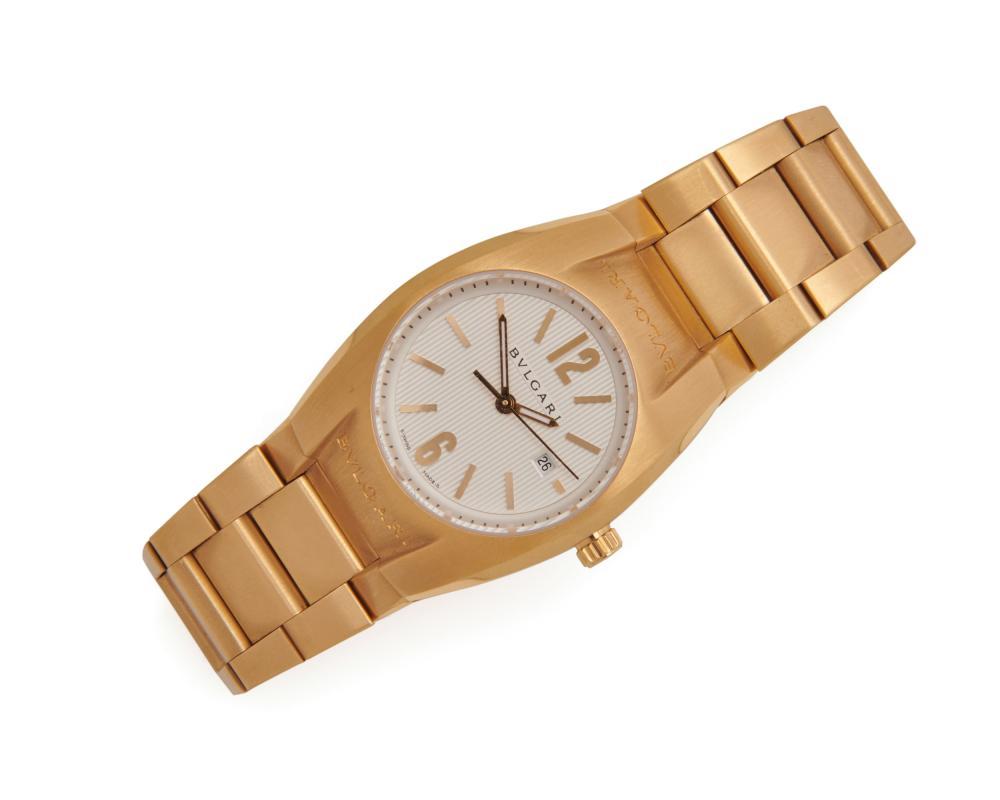BULGARI 18K Gold 'Ergon' Wristwatch