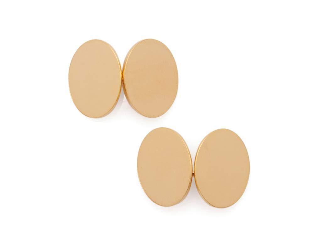 ALFRED DUNHILL 18K Gold Cufflinks