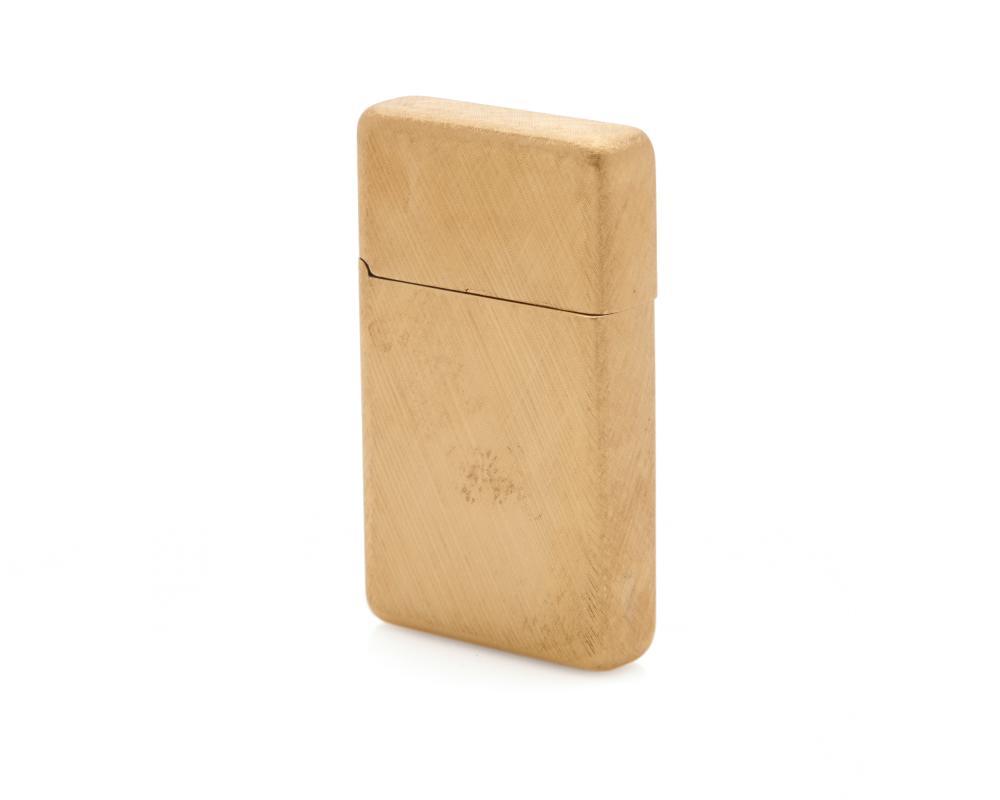 BUCCELLATI 18K Gold Lighter Holder