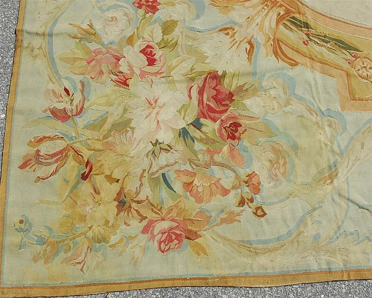 AUBUSSON CARPET, France, 19th century;