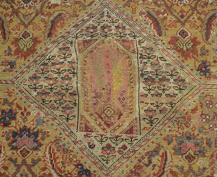 KARABAGH CORRIDOR CARPET, Caucasus, third quarter 19th century;