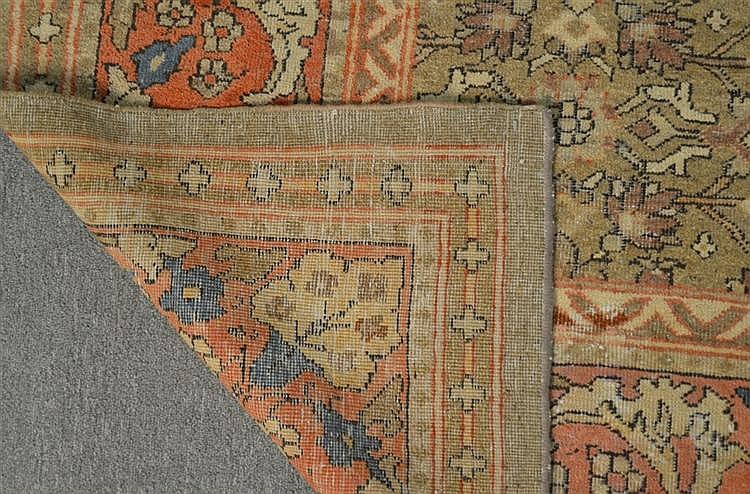 NORTH WEST PERSIAN CARPET, late 19th century;