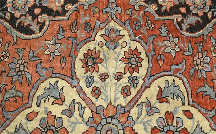 FEREGHAN MAHAL CARPET, Persia, late 19th century;