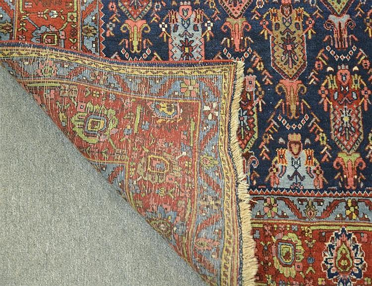 BIDJAR RUG, Persia, ca. 1880;