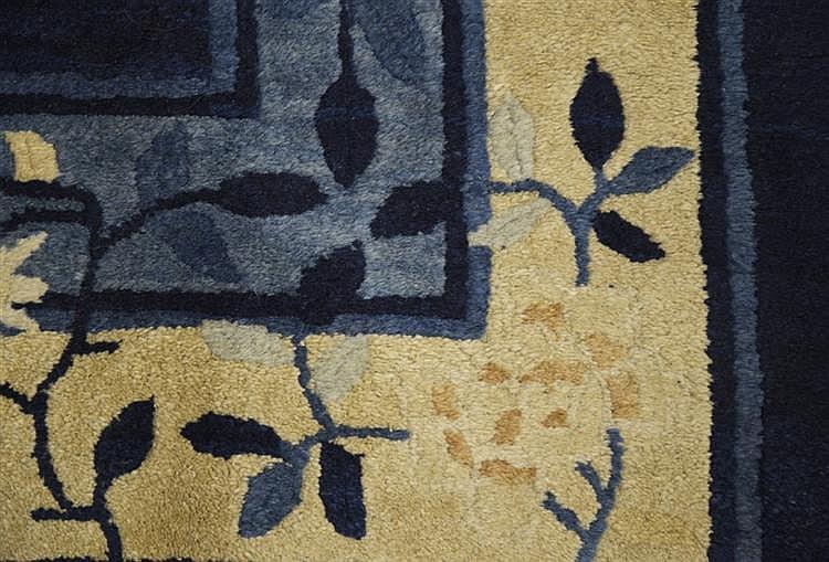 CHINESE CARPET, 1st quarter 20th century;