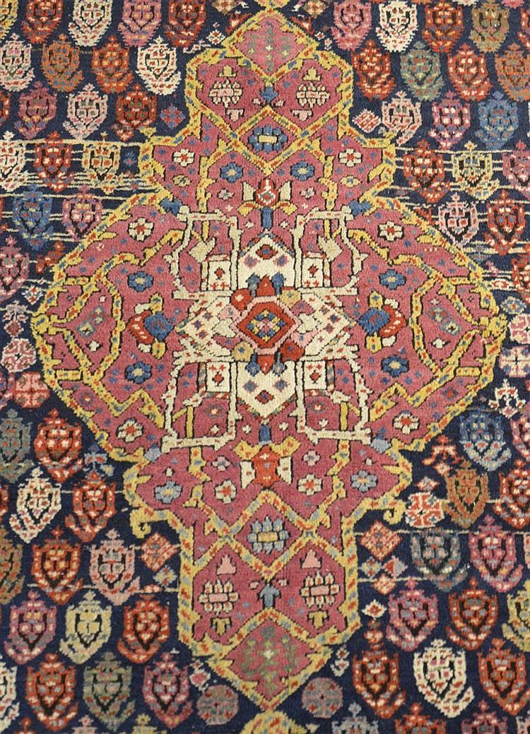 NORTHWEST PERSIAN CORRIDOR CARPET, ca. 1880;