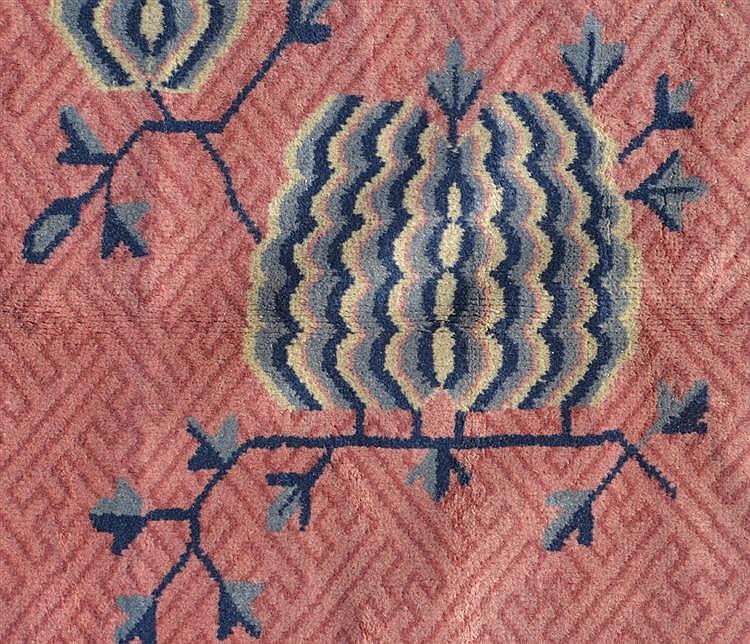 INDO CHINESE CARPET, ca. 1900;