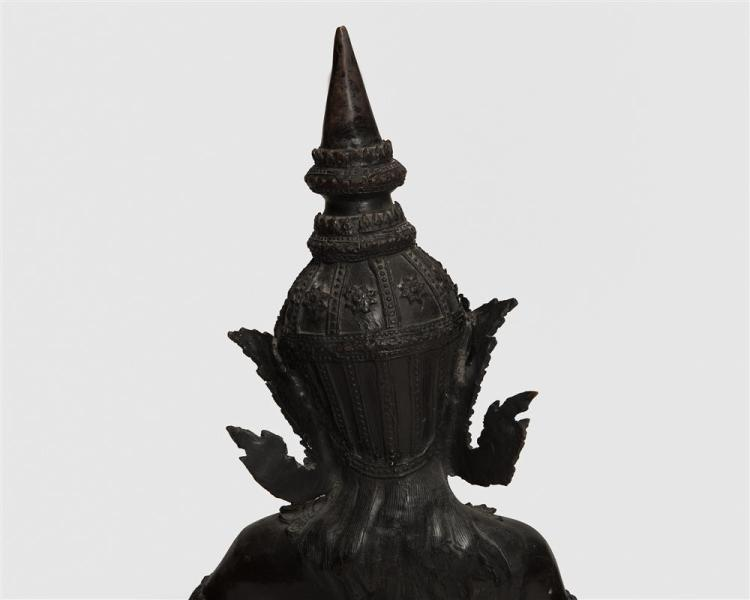 Asian Bronze Figure of a Dancing Girl, Siam, 19th century