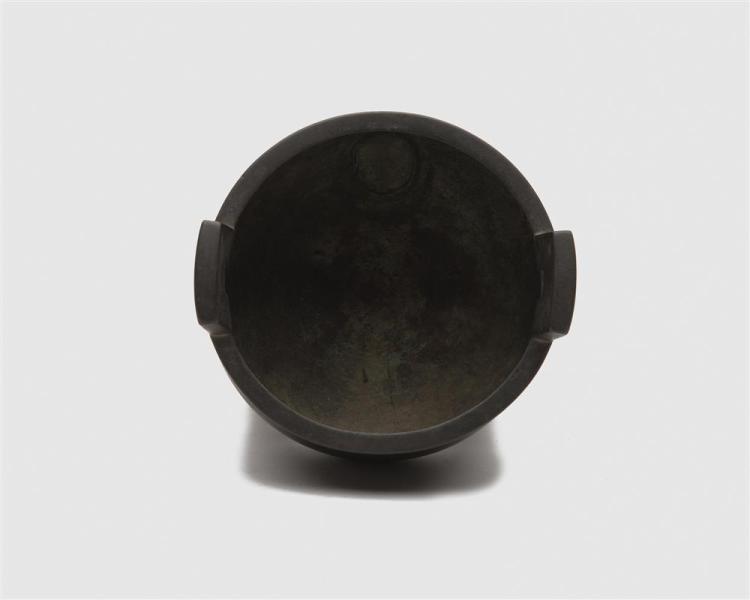 Chinese Archaic Bronze Style Three Legged Pot