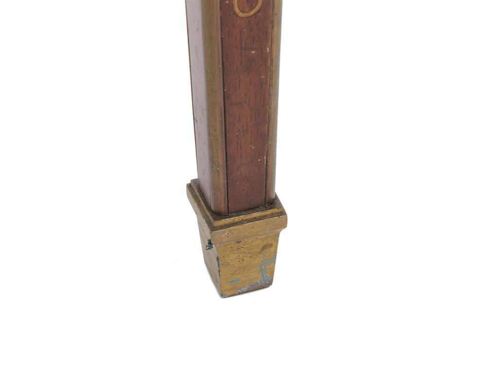 Louis XVI Style Brass Inlaid Mahogany Vitrine Table, late 19th century