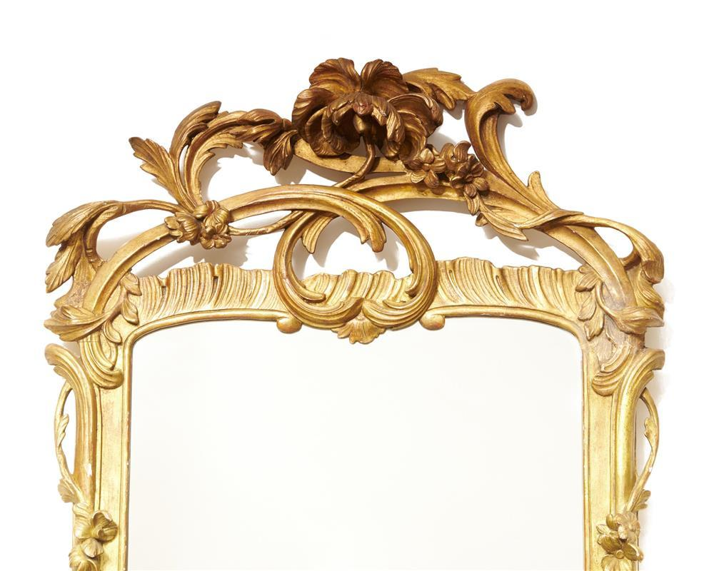 Pair of Early Victorian Giltwood Wall Mirrors, ca. 1840