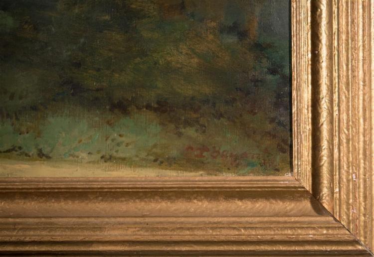 EVERETT LLOYD BRYANT, (American, 1864-1945), HILLS OUTSIDE LOS ANGELES, ca. 1930, oil on canvas, 30 x 36 in. (period frame: 36 x 42...
