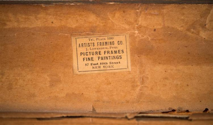 CHAUNCY F. RYDER, (American, 1868-1949), COASTAL SCENE, oil on canvas, 12 x 16 in. (18 1/4 x 22 1/2 in.)