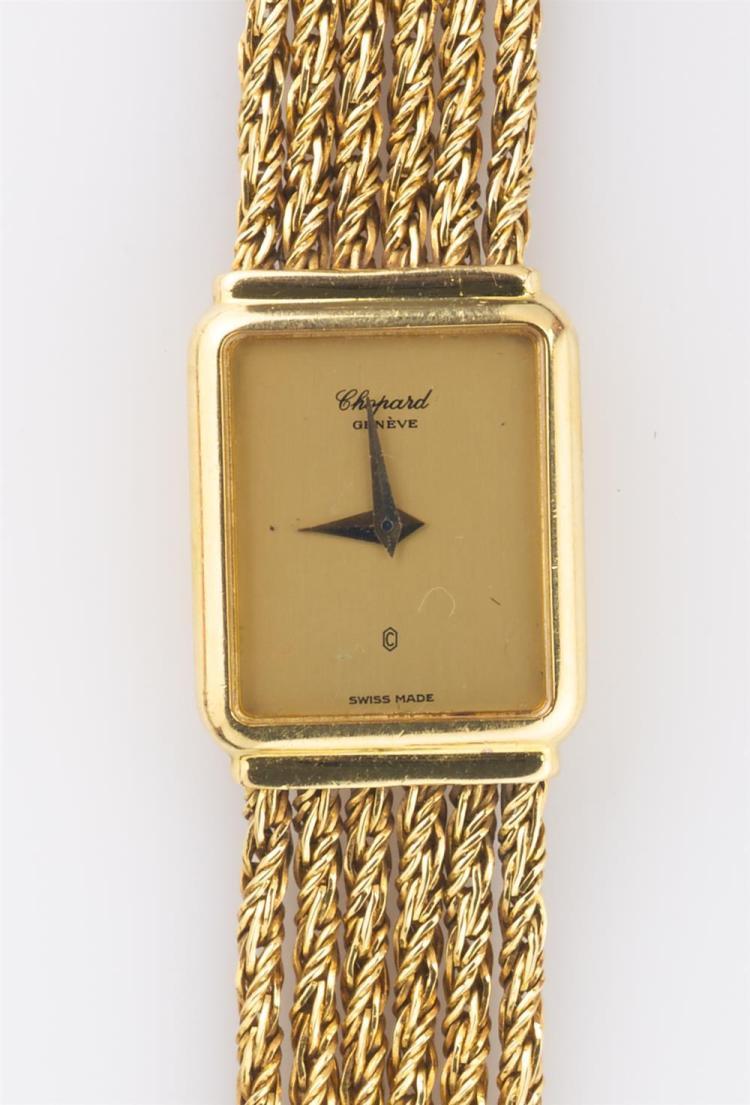 LADY'S 18K YELLOW GOLD WRISTWATCH, Chopard