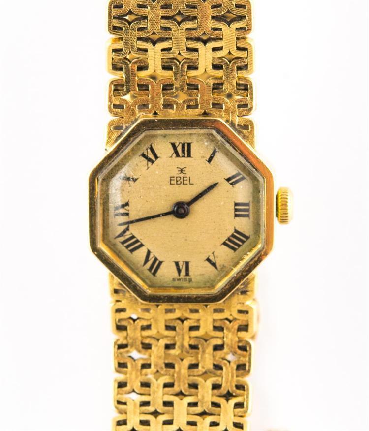 LADY'S 18K YELLOW GOLD WRISTWATCH, Ebel