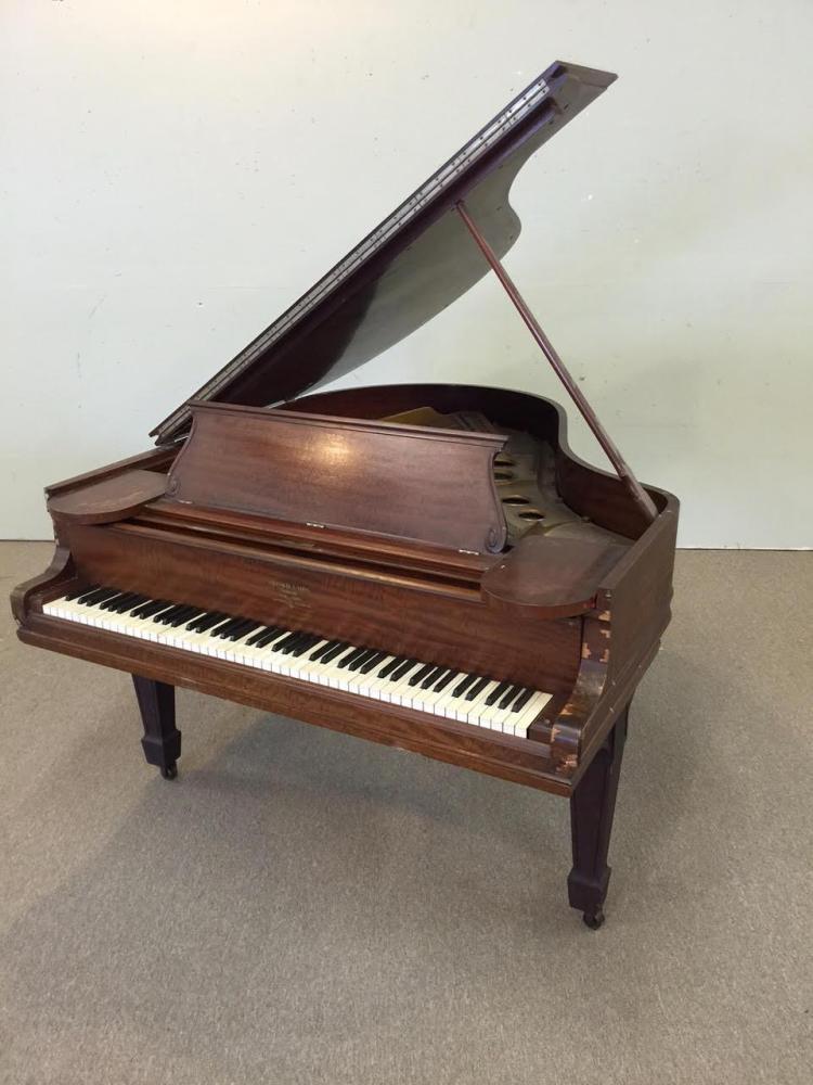 MAHOGANY STEINWAY BABY GRAND PIANO, 1907