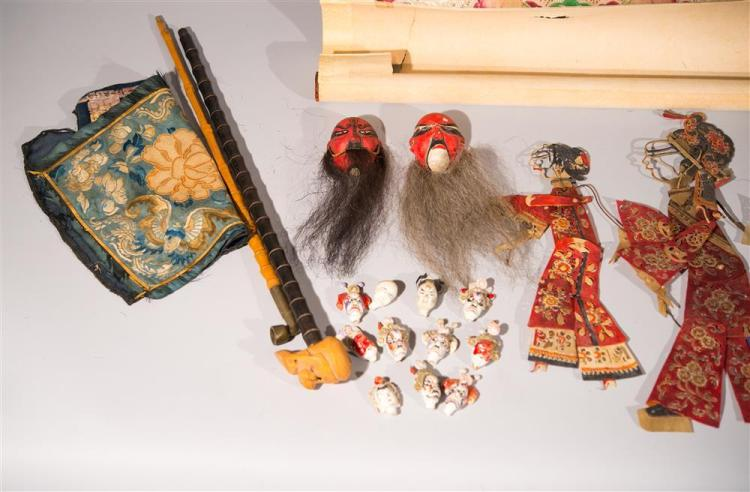COLLECTION OF CHINESE OBJECTS