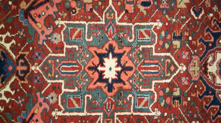 KARAJA CORRIDOR CARPET, Persia, ca. 1925; 12 ft. x 5 ft.