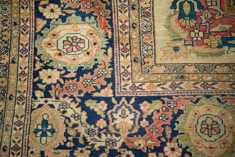 SAROUK FEREGHAN CARPET, Persia, ca. 1900; 19 ft. 3 in. x 14 ft. 2 in.