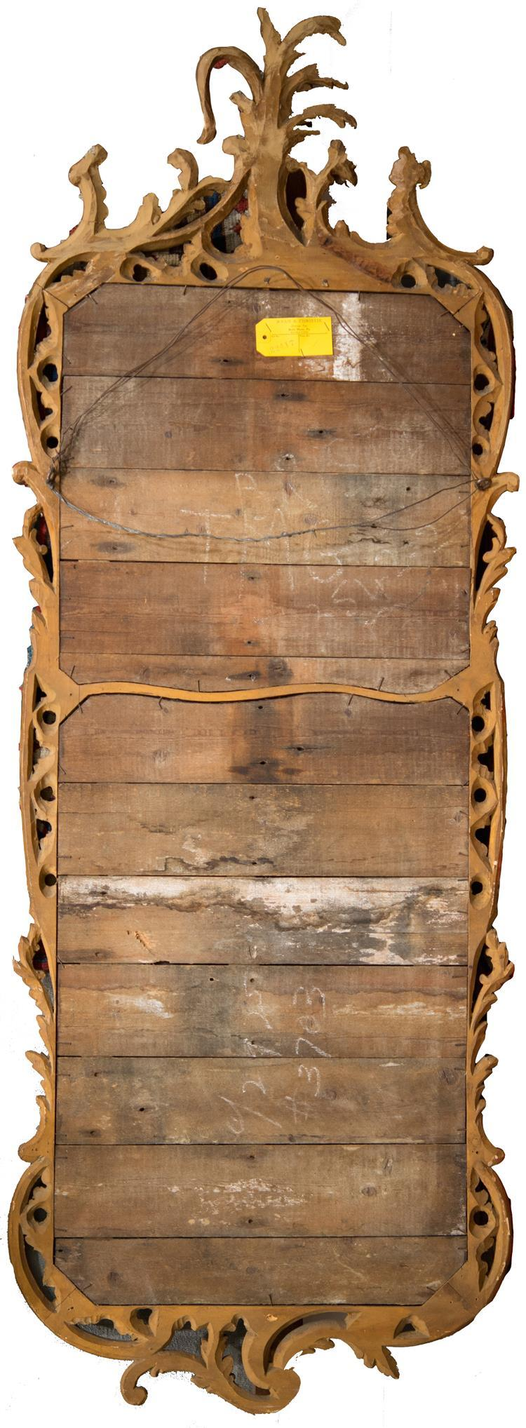 PAIR OF GEORGIAN CARVED GILTWOOD PIER MIRRORS
