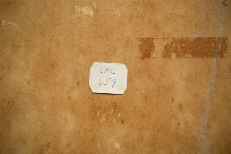 E.E. CUMMINGS, (American, 1894-1962), WHITE MOUNTAINS LANDSCAPE, ca. 1925, oil on artboard, 36 x 48 in. (frame: 38 1/2 x 50 1/2 in.)