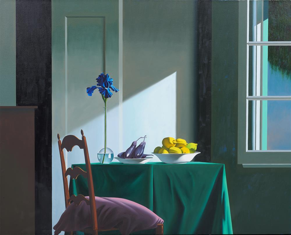 BRUCE COHEN, (American, b. 1953), Untitled, 1990, oil on linen, 48 x 60 in., frame: 50 x 62 in.