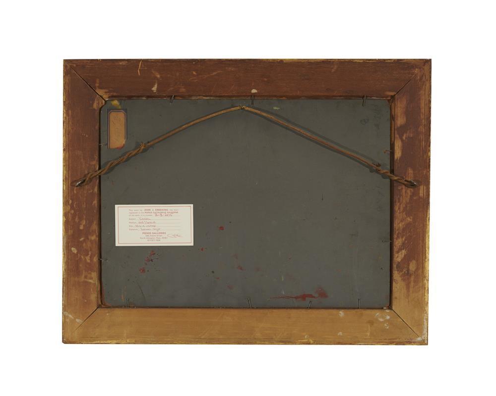 JOHN JOSEPH ENNEKING, (American, 1841-1916), Venice, oil on board, 10 x 14 in., frame: 13 1/2 x 17 1/2 in.