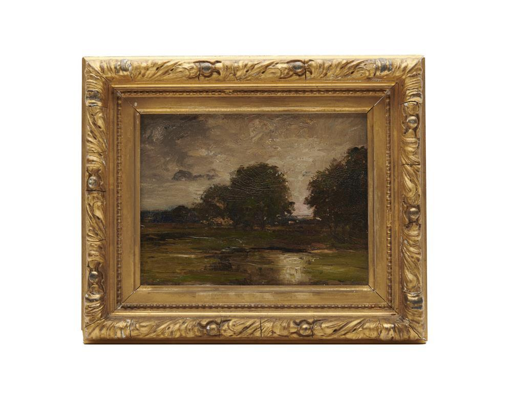 CHARLES EDWIN LEWIS GREEN, (American, 1844-1915), Two Lynn Views