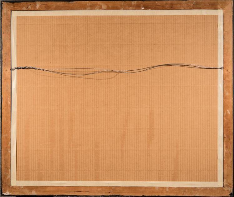 GIOVANNI BATTISTA PIRANESI, (Italian, 1720-1778), PRISONERS ON A PROJECTING PLATFORM, etching on paper, plate: 16 1/4 x 21 1/4 in. (...