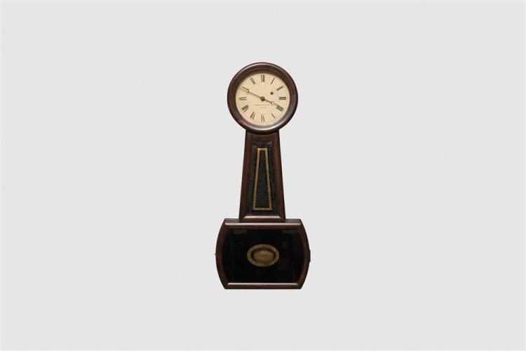 Howard & Davis No. 4 Rosewood Wall Clock