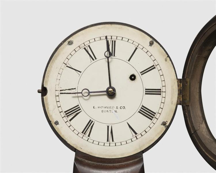 E. Howard & Co. No. 5 Rosewood Wall Clock