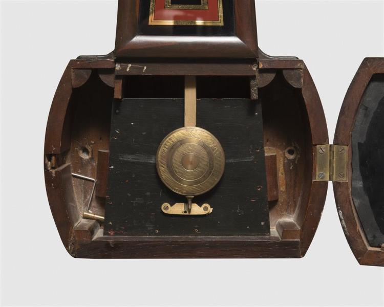 E. Howard No. 4 Rosewood Wall Clock