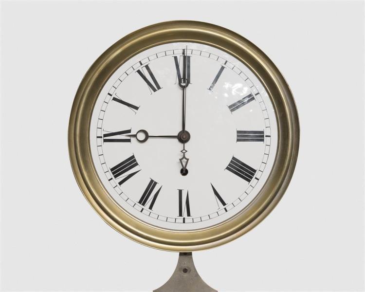 M. L. Sheehan Pinwheel Regulator Wall Clock