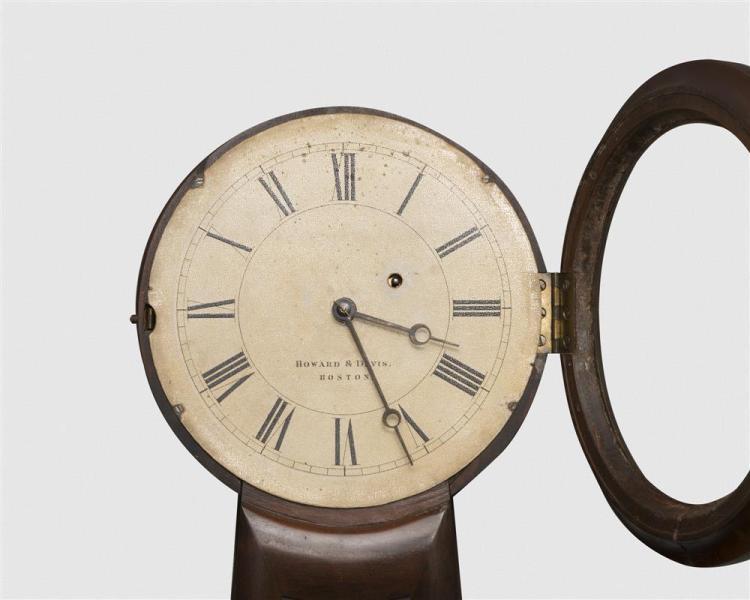 Howard & Davis No. 3 Mahogany Wall Clock