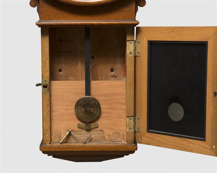 E. Howard & Co. No. 70 Oak Wall Clock