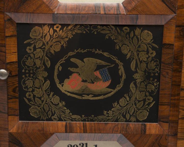 Seth Thomas Rosewood Calendar Clock