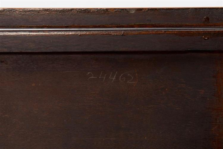 FEDERAL INLAID MAHOGANY LIFT-TOP GAMES TABLE, Massachusetts, early 19th century