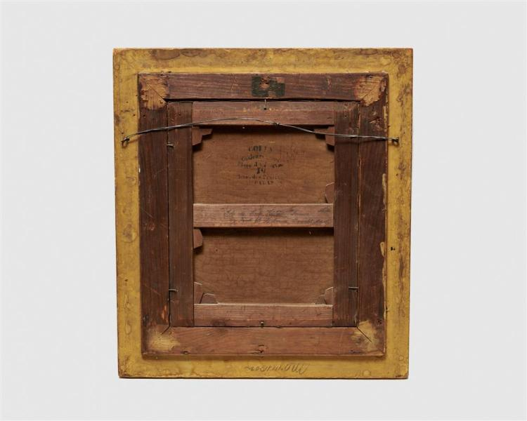 FREDERICK DICKINSON WILLIAMS, (American, 1829-1915), Ile de Sainte Helene, 1875, oil on canvas, 15 1/2 x 12 1/2 in., frame: 22 x 19 in.