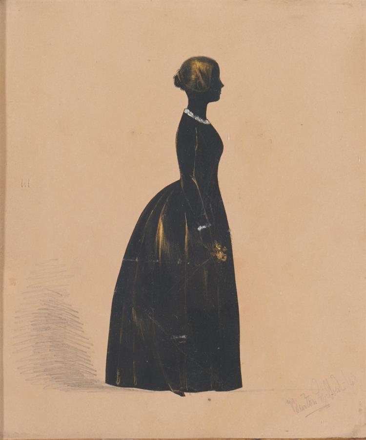 Two 19th Century American Silhouette Portraits