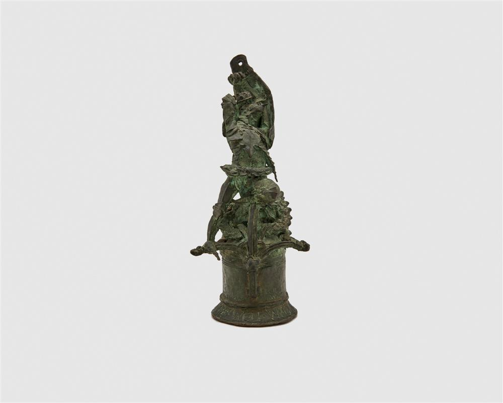 LEE OSKAR LAWRIE, (German/American, 1877-1963), St. George Slaying the Dragon, bronze, height: 10 in.