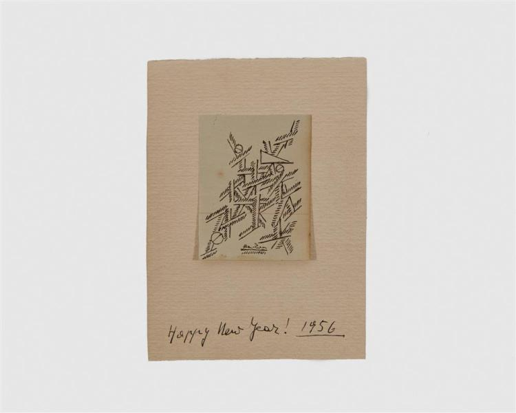 BEN ZION, (American, 1897-1987), Three Drawings, ink, largest: 10 1/4 x 6 1/2 in.
