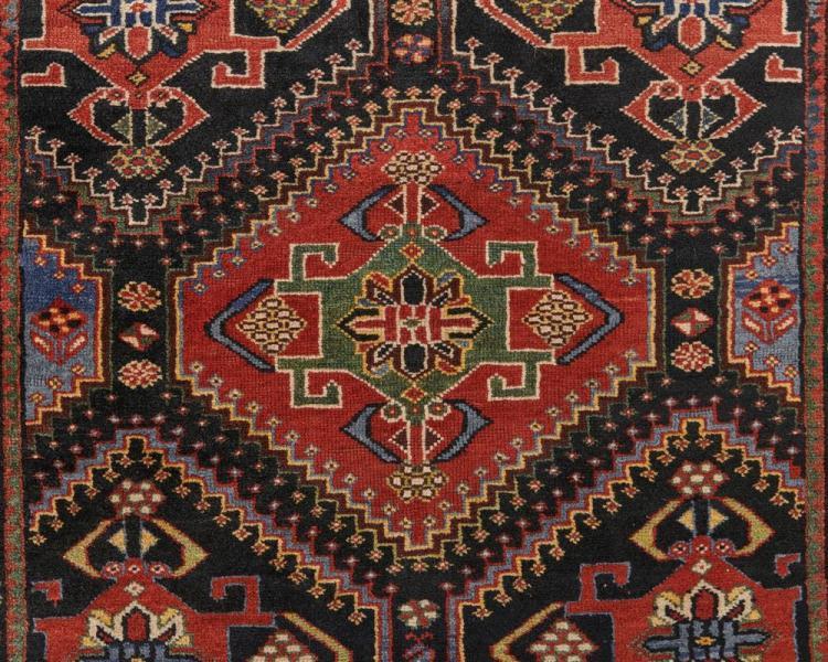 Luri Bakhtiari Rug, Persia, ca. 1900; 8 ft. x 4 ft. 3 in.