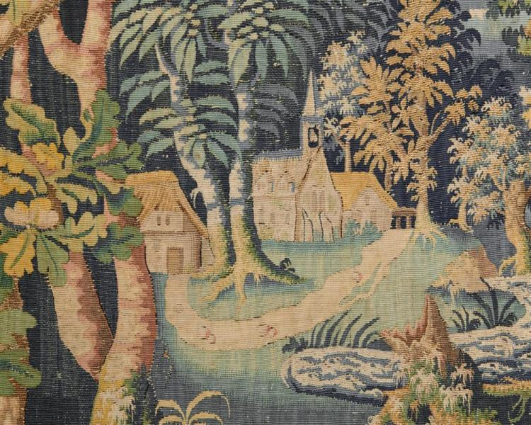 French Game Park Tapestry, ca. 1700