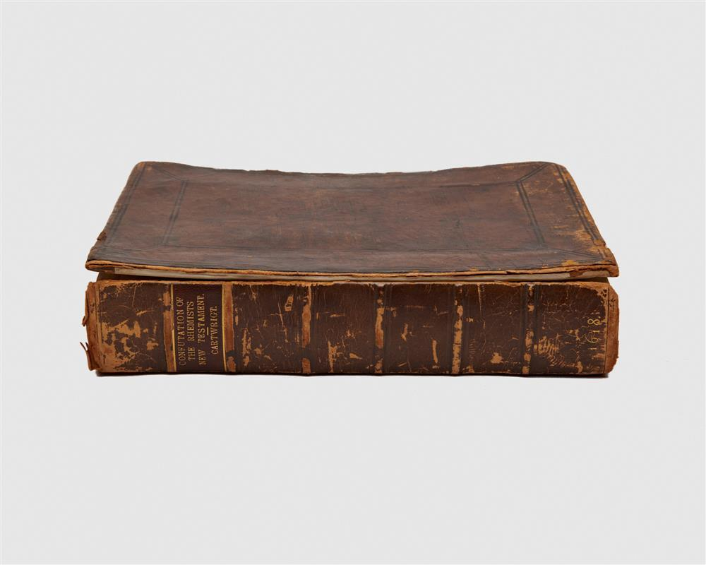 CARTWRIGHT, THOMAS. A Confutation of the Rhemists translation, glosses, and annotations on the New Testament, so farre as they containe manifest impieties, heresies, idolatries, supersitions, phophanesse, treasons, sl...